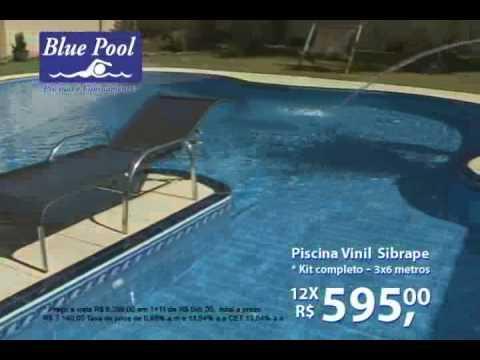 Blue Pool Piscina Sibrape Youtube