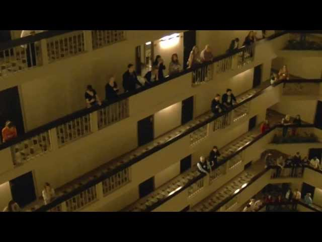 Kentucky All State Choir – National Anthem – Hyatt Louisville 2013