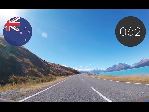 NZ[062] Drive to Mt Cook Part1 2017/01/30