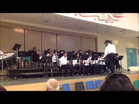 """Vandenberg Middle School Concert Band """"Los Matadores"""""""