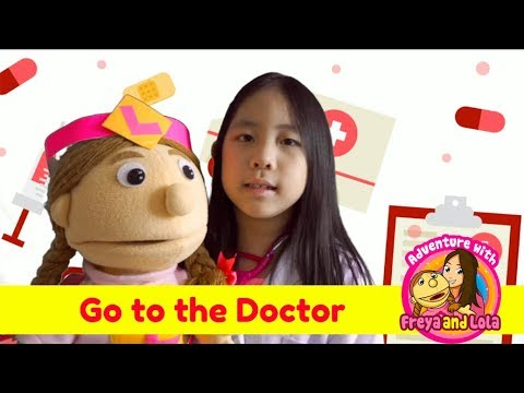 Kid Friendly Videos : Go to the Doctor for Kids (includes  original song for kids)