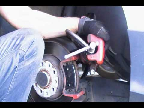 2007 Vw Gti Rear Brake Pad Replacement Without Compression