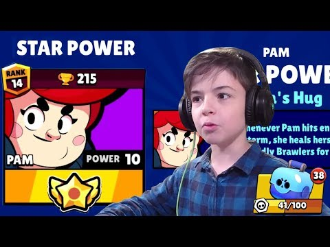 PAM STAR POWER - PAM MAX POWER LEVEL - Brawl Stars