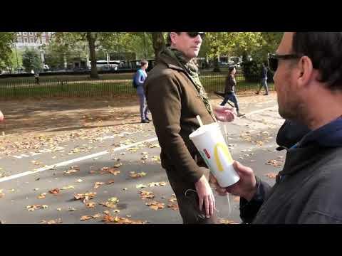 Omar Ratboy vs Hasan Bum fight speakers corner