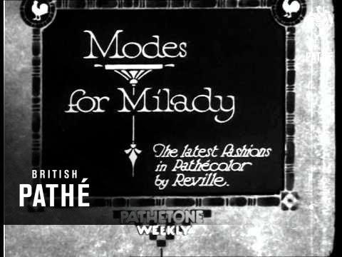 Modes For Milady (1931)