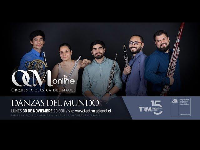 El Quinteto de Vientos de la Orquesta Clásica del Maule se presenta en el TRM