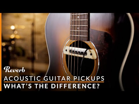 Choosing the Right Acoustic Guitar Pickup: Soundhole vs Transducer vs Mic vs Piezo | Reverb Demo