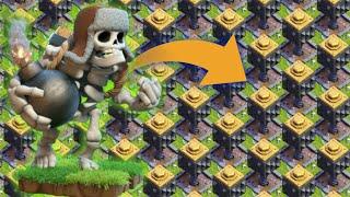 max giant skeleton vs max crusher | Clash of clans | coc private server 2018 |