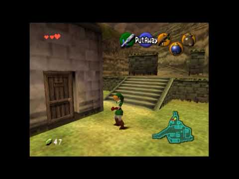 New Ocarina of Time glitch - Equip any item as any age - found by