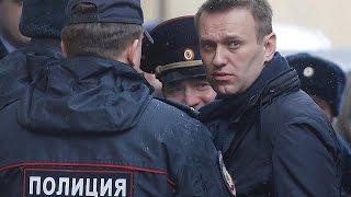 Rus muhalif lider Navalny hakim karşısında