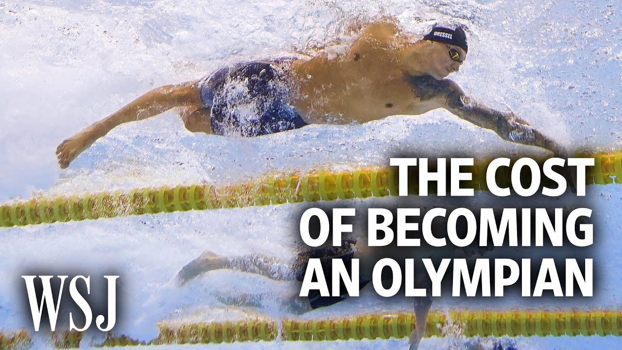The Cost of Becoming an Olympic Swimmer for Team USA   WSJ