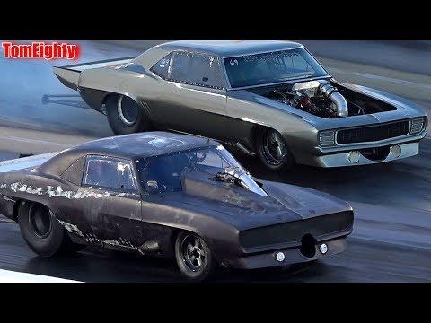 Street Outlaws No Prep Kings Grudge Racing at North Carolina