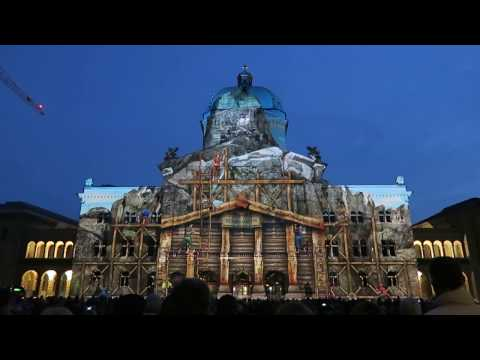Supershow am Bundeshaus in Bern 2015