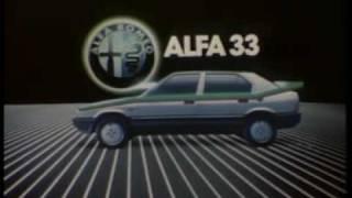 Anuncio Alfa Romeo 33 1983