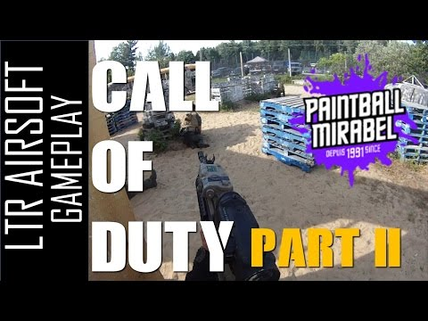 [Fr] Mirabel Paintball - Call of Duty part 2 - LTR airsoft
