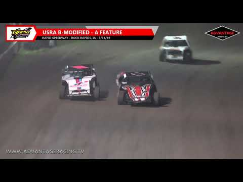 B-Modified Feature - Rapid Speedway - 5/31/19
