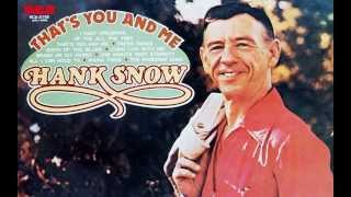 Watch Hank Snow One Minute Past Eternity video