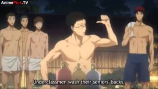 Kuroko No Basket2 episode 12~Onsen best moments~!!!
