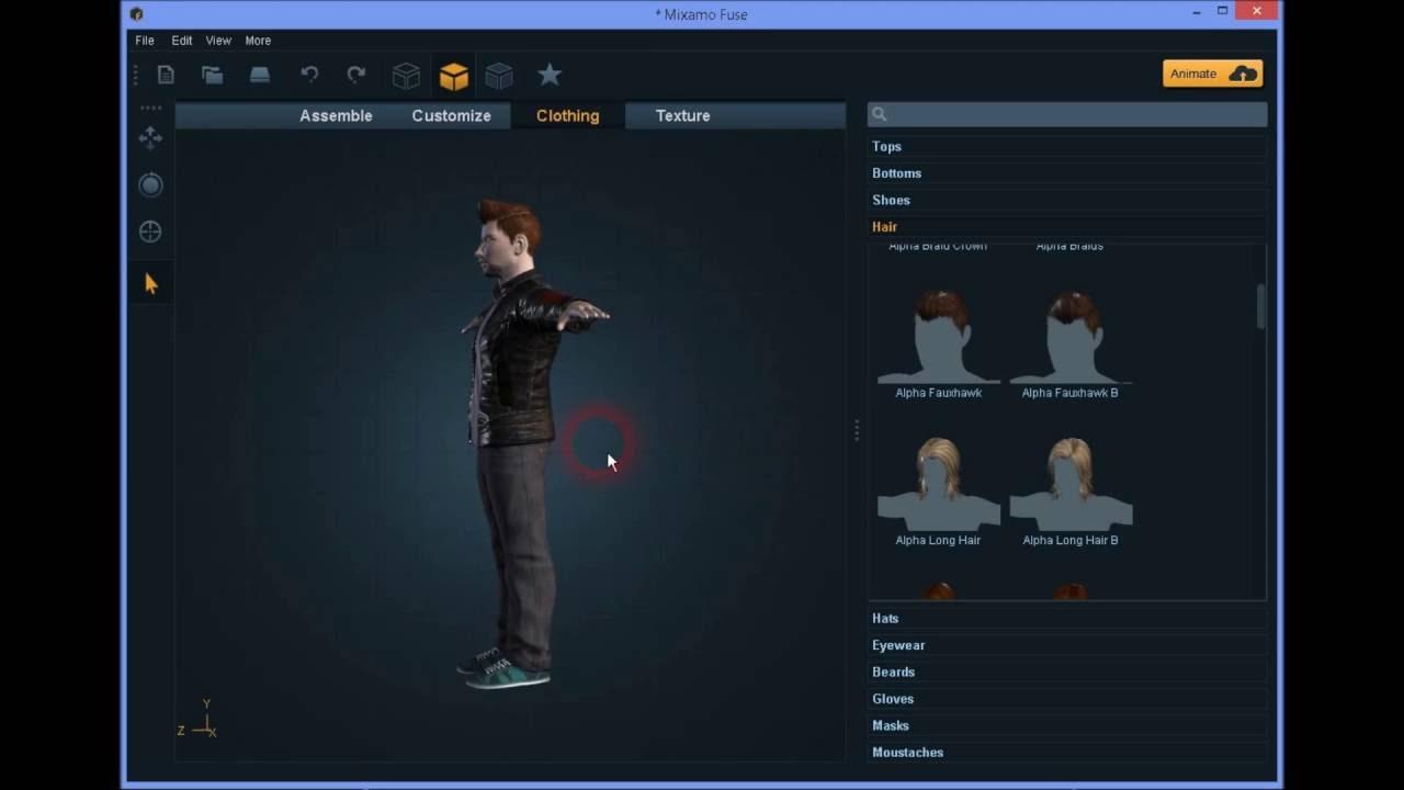 Como crear un personaje 3d personalizado para unity for Programa para hacer habitaciones en 3d