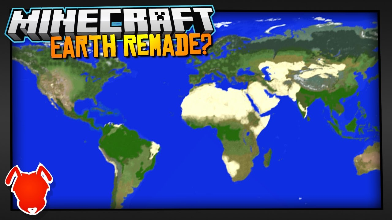 REAL PLACES RE-MADE in MINECRAFT!
