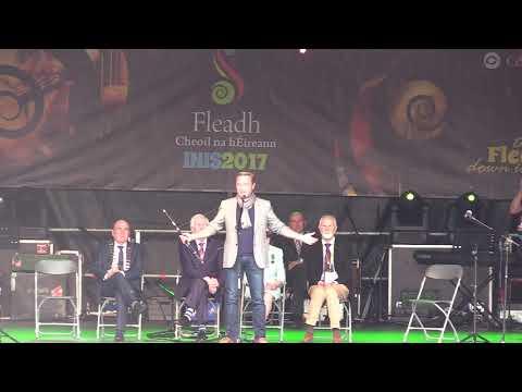 Fleadh Cheoil Ennis 2017 - Offical launch with Michael Flatley