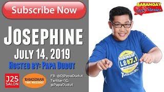 Barangay Love Stories July 14, 2019 Josephine