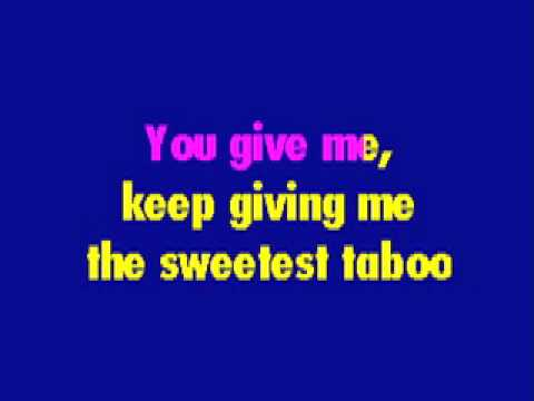 Sade - Sweetest Taboo (Karaoke Rendition)