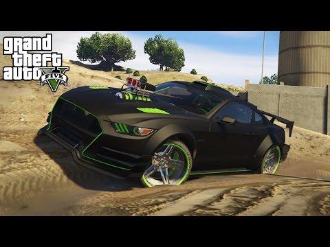 STREET CAR OFF-ROADING! Dirt Track & Mudding in Performance Cars! (GTA 5 PC Mods)