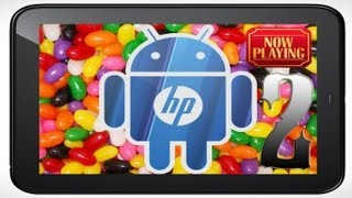 HP TouchPad CyanogenMod 10 Preview 2 with Sound and Microphone Demo, Jelly Bean 4.1.2