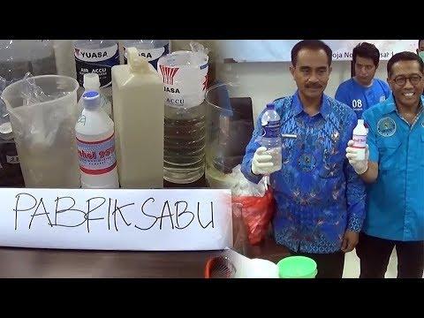 BNN RI dan BNNP Bali Grebeg Kamar Kos yang Dipakai untuk Produksi Sabu-sabu