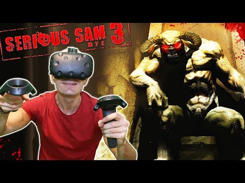 DOUBLE THE GUN, DOUBLE THE FUN! - Serious Sam 3 VR Gameplay on HTC Vive - 동영상