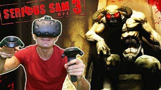 DOUBLE THE GUN, DOUBLE THE FUN! | Serious Sam 3 VR Gameplay on HTC Vive