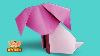 Origami - Make a Dog The Easy Way