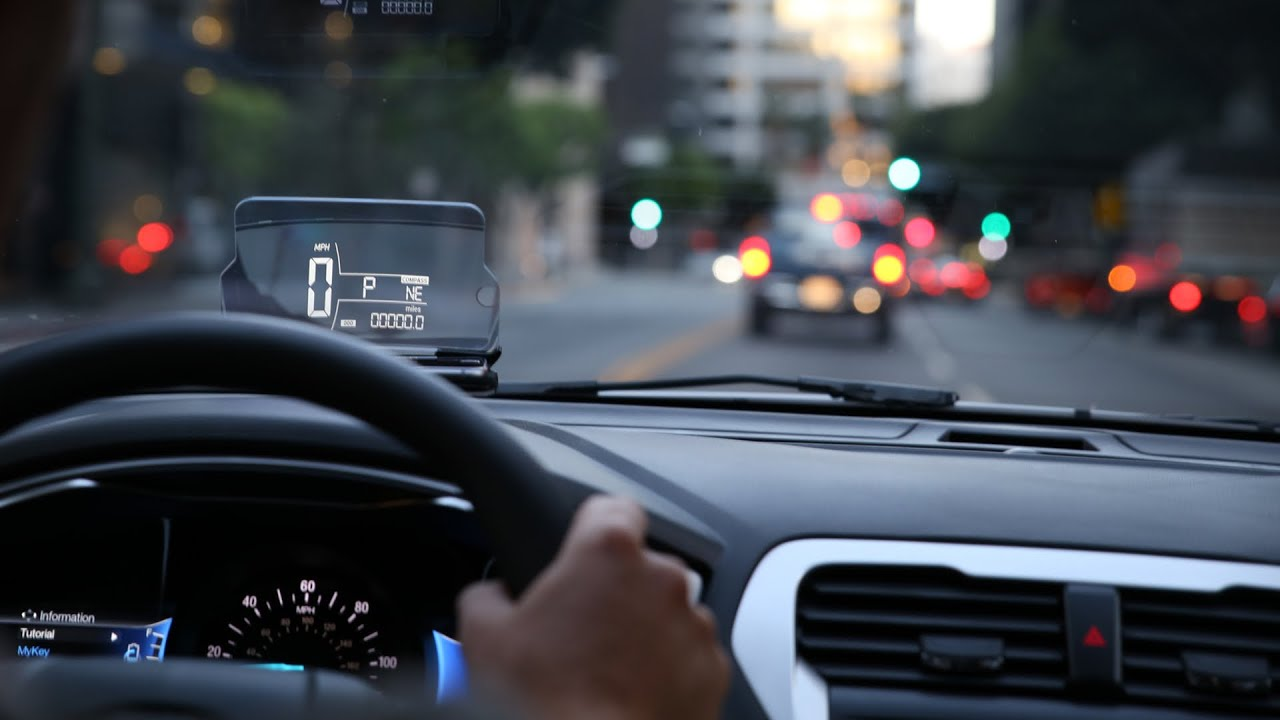 HUD For Any Car HeadUp Display Car Accessory Turn Any Smartphone - Car display