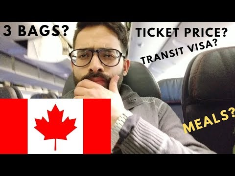 FLIGHT TICKET DETAILS | CANADA