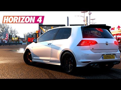 forza horizon 4 je config la plus belle voiture volkswagen golf r 2014 test. Black Bedroom Furniture Sets. Home Design Ideas