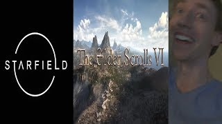 STARFIELD & ELDER SCROLLS VI ANNOUNCEMENT REACTION