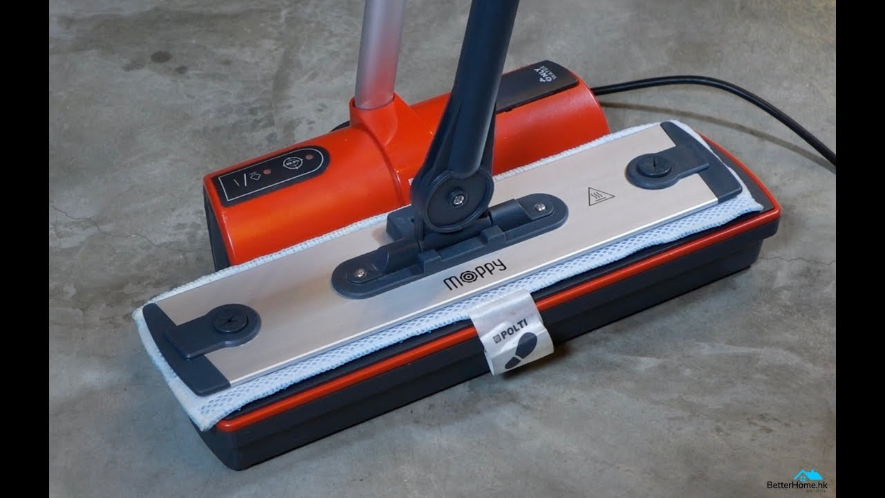 【家庭電器】高溫清洗 無線易用 意大利 POLTI MOPPY 蒸氣清洗機 - YouTube