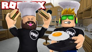 I AM A PRO CHEF in ROBLOX COOKING SIMULATOR / BLOX4FUN