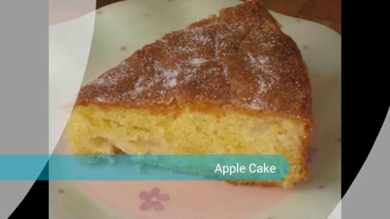 How To Make Apple Sponge Cake