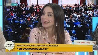 Mariana Zuvic opinó del discurso de Macri y dijo: