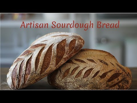 The Perfect Sourdough Artisan Bread - A Step-By-Step Guide | Chef Rachida