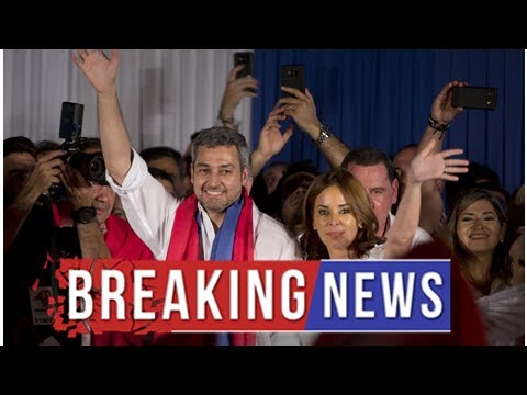 Paraguay ruling party candidate wins presidential election
