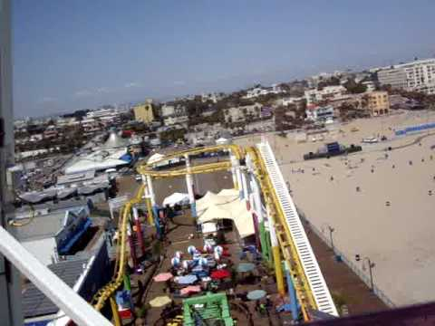 Santa Monica Pier With My Camera