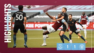 EXTENDED HIGHLIGHTS | WEST HAM UNITED 1-1 MANCHESTER CITY
