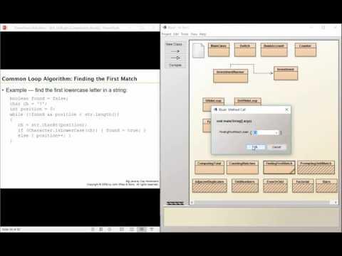 Big java 6.5: Common Loop Algorithms