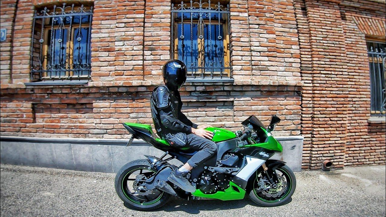1000 კუბიანი რაკეტა Kawasaki Ninja ZX10R (08)