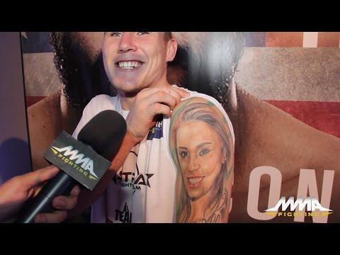 UFC Fight Night 67: Darren Till Says He Didn't Get Paige VanZant Tattoo