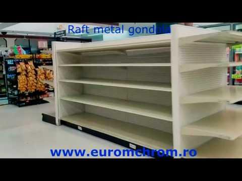 Raft metal Gondola