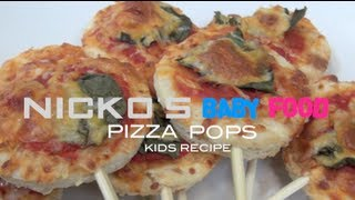 PIZZA POPS - Kids Recipe Thumbnail